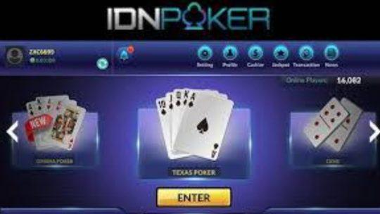 10 Taktik Rahasia Menang Poker Online IDN TerBaru 2020